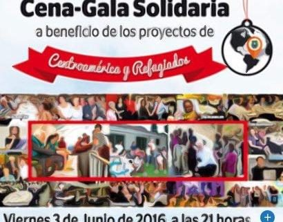 Cena solidaria Edad Dorada Andalucía 2016