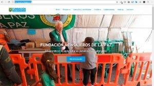 mensajerosdelapaz.org nuevo web de la Fundación Mensajeros de la Paz