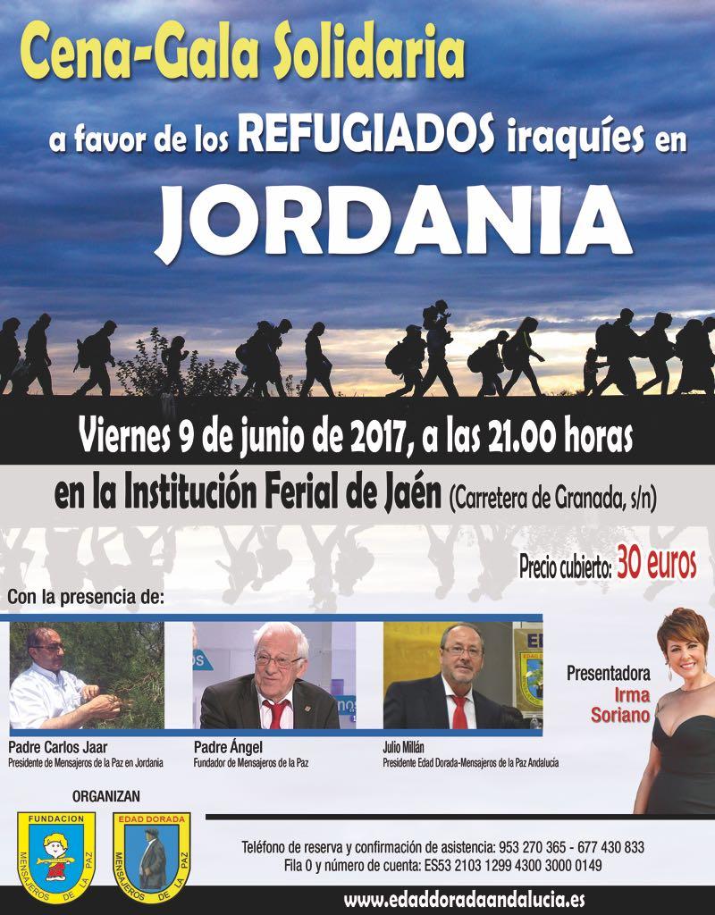 Cena Gala Solidaria 2017 en Jaén