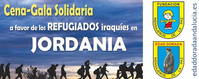 Cena Gala Solidaria 2017 en Jaén, a favor de los refugiados iraquíes en Jordania
