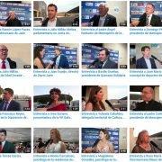 Entrevistas cena-gala solidaria Edad Dorada Mensajeros de la Paz Andalucía