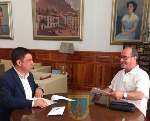 Entrega de llaves nueva sede Edad Dorada-Mensajeros de la Paz Andalucía
