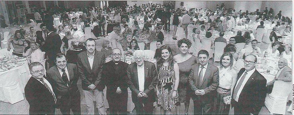 Personalidades en la gala solidaria de Mensajeros de la Paz en Jaén