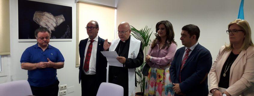 Bendición de la nueva sede Edad Dorada en Jaén
