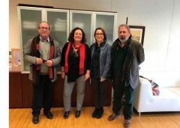 Visita a la Agencia de Servicios Sociales y Dependencia de Andalucía