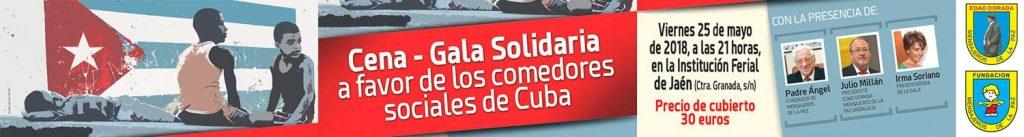 Cena gala solidaria 2018 en Jaén capital
