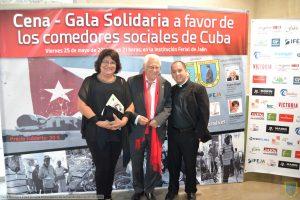 VIII Cena-gala solidaria Edad Dorada Mensajeros de la Paz en Jaén: photocall