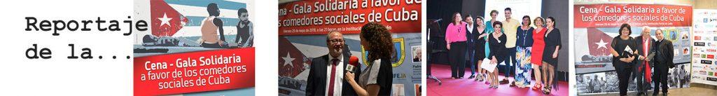 Reportaje de la VIII cena-gala solidaria Edad Dorada en Jaén