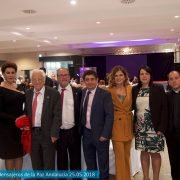 Inicio de la VIII cena-gala solidaria Edad Dorada en Jaén