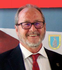 Julio Millán Medina, presidente de Edad Dorada Mensajeros de la Paz Andalucía