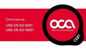 Certificados UNE-EN ISO de Edad Dorada Andalucia