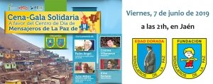 Cena gala solidaria a favor del Centro de Día de Mensajeros de la Paz Lima