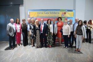 IX Cena-gala solidaria en Jaén organizada por Edad Dorada Mensajeros de la Paz Andalucía: photocall