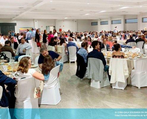 IX Cena-gala solidaria en Jaén organizada por Edad Dorada Mensajeros de la Paz Andalucía
